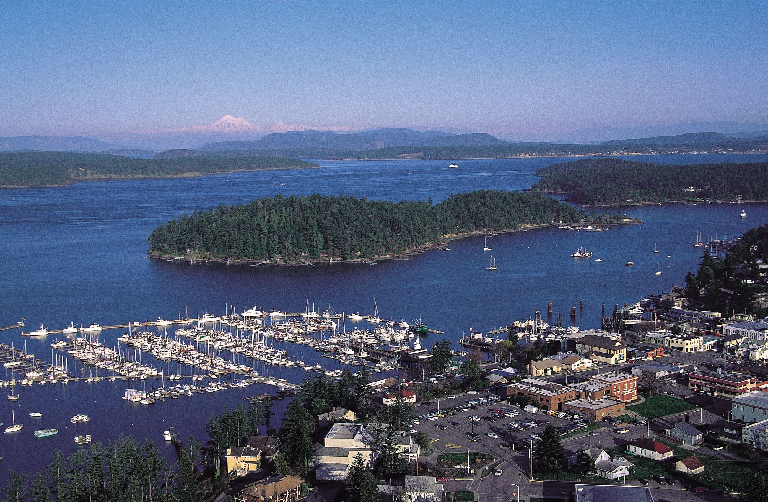 Friday Harbor, San Juan Islands